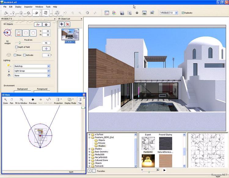 Artlantis Studio 2.1. Screenshots for.