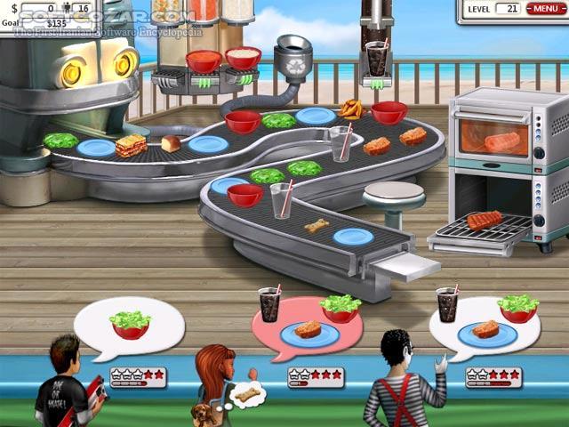 Увеличить скриншот Burger Shop 2. Скачать бесплатно полную версию игры Burg