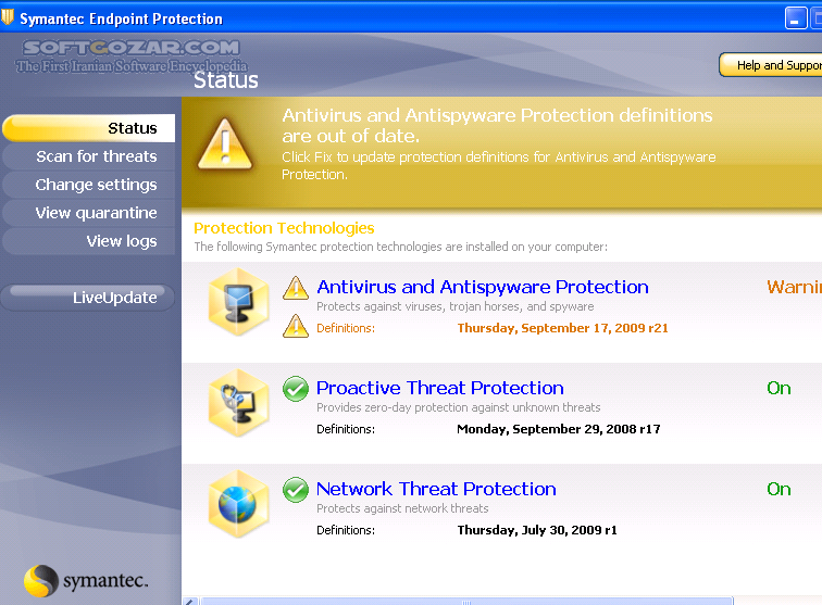 Symantec endpoint protection v11 0 4202 mr4 mp2 zwtiso