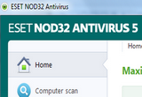 ESET NOD32 Antivirus Home Edition 5.2.15.1 x86/x64 Final (Update 7850) 2013-01-01