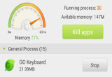 GO Cleaner & Task Manager PRO 3.9 for Android