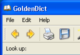 GoldenDict 1.0.1 + Portable with Farsi English Arabic German Russian Swedish Glossary