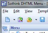 آموزش تصویری نرم افزار DHTML Menu