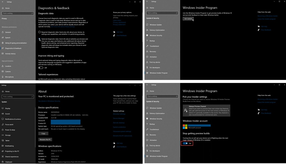 ویندوز ویندوز 10 سیستم عامل مایکروسافت آپدیت ویندوز 10