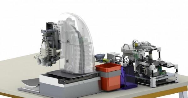 سیستم ربات تکنولوژی پزشکی آمریکا