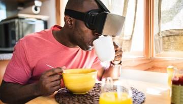 واقعیت مجازی VR هدست