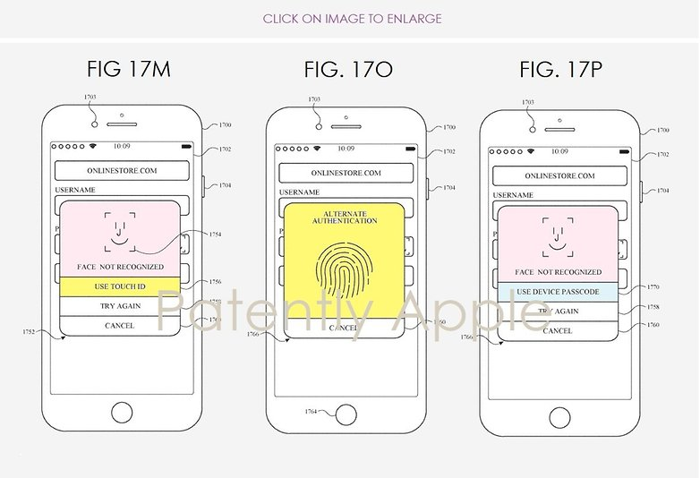 Touch ID Face ID فیس آیدی تاچ آیدی اپل آیفون