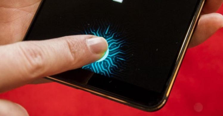 سامسونگ اسکنر اثر انگشت اسکنر اثر انگشت درون صفحه نمایش گلکسی اِی 10