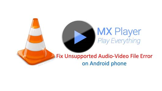مدیا پلیر MX Player VLC
