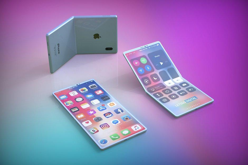 اپل آیفون گوشی تاشو اپل