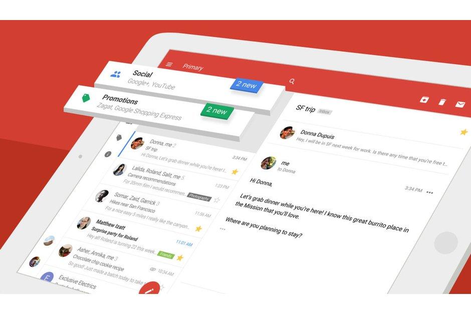 گوگل جیمیل iOS اپلیکیشن نرمافزار آیفون آیپد