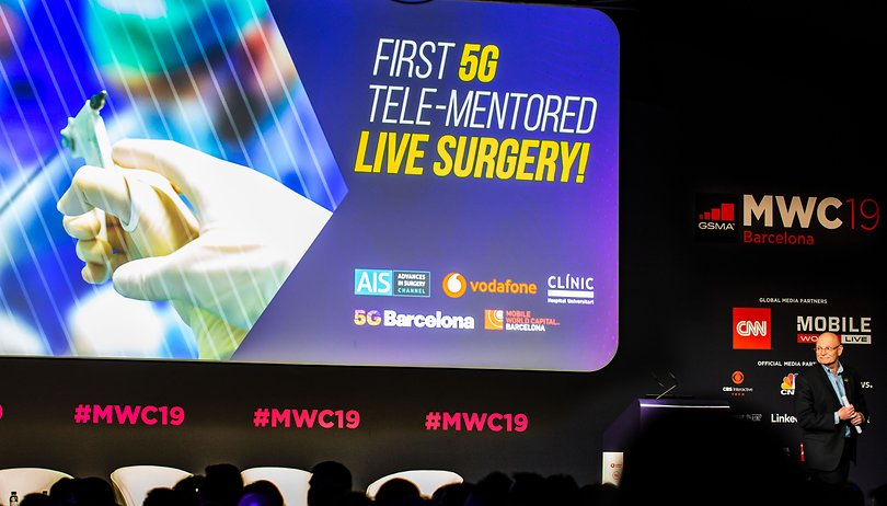 5G شبکه نسل 5 ارتباطات بارسلونا MWC کنگره جهانی موبایل