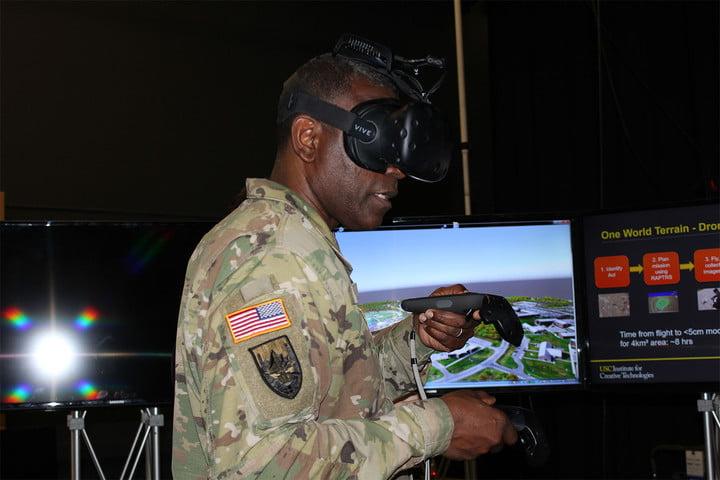 واقعیت مجازی VR ارتش ایالات متحده آمریکا