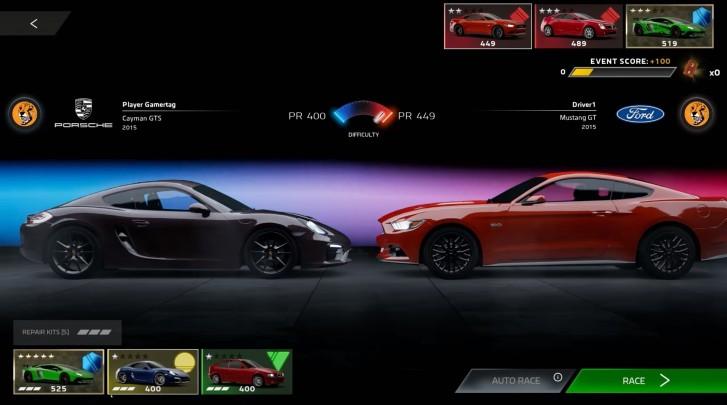 مایکروسافت بازی Forza Street اندروید iOS