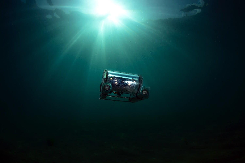 ربات باتری زیر دریایی