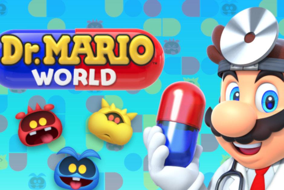 پازل Dr. Mario World بازی نینتندو