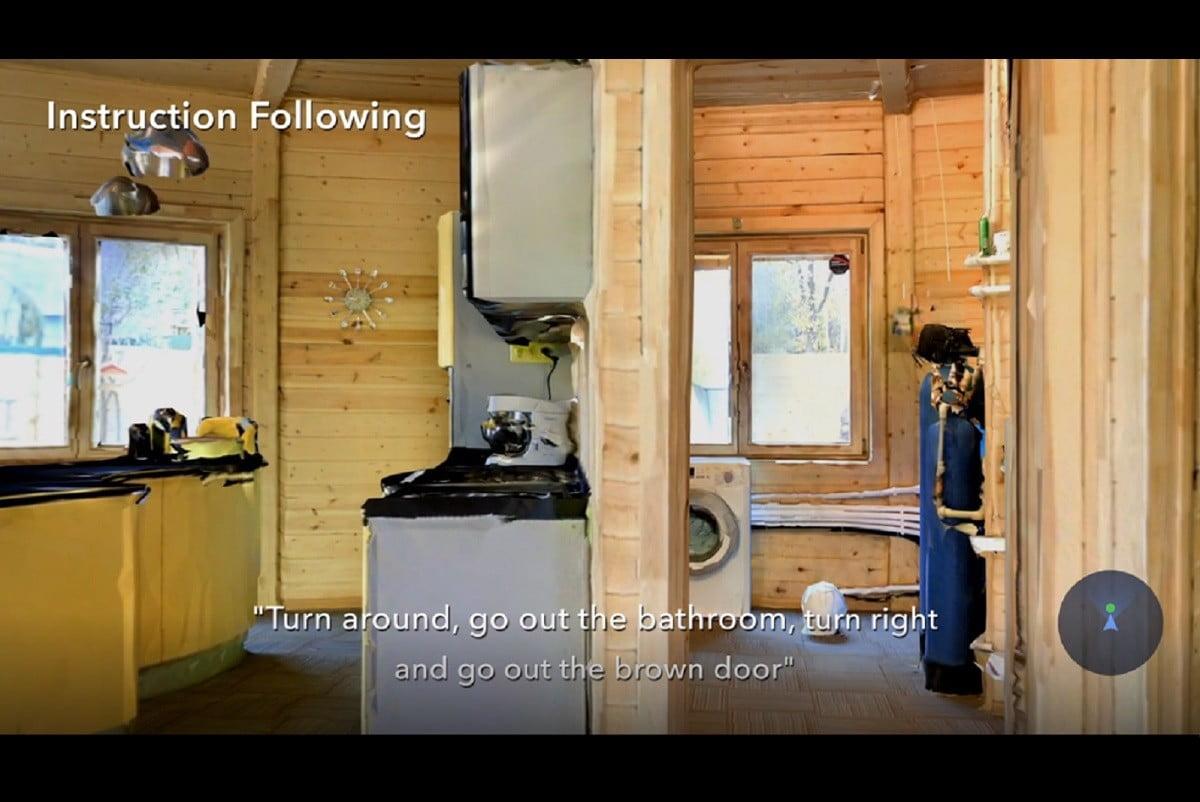 فیسبوک هوش مصنوعی ربات Replica Habitat