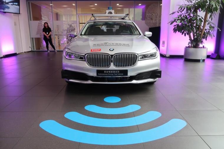 Tencent BMW خودروهای بدون راننده چین خودروهای هوشمند