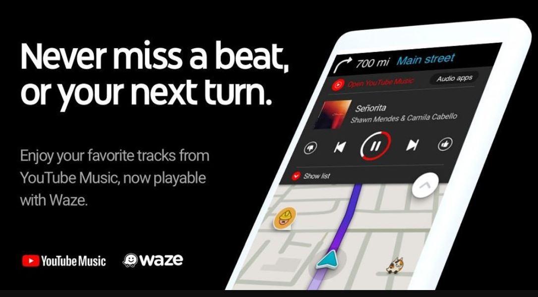 Waze یوتیوب یوتیوب موزیک