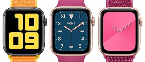 اپل ساعت هوشمند اپل واچ اپل واچ سری 5 اپل واچ سری 4