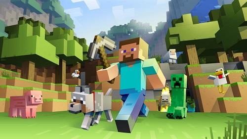 ماینکرافت Minecraft مایکروسافت بازی