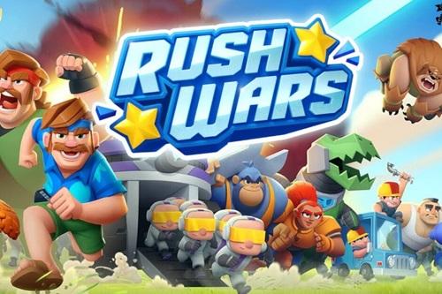 بازی Rush Wars کلش آف کلنز بتل رویال گیمینگ