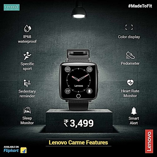 Lenovo Carme لنوو ساعت هوشمند لنوو لنوو کارمی ساعت هوشمند
