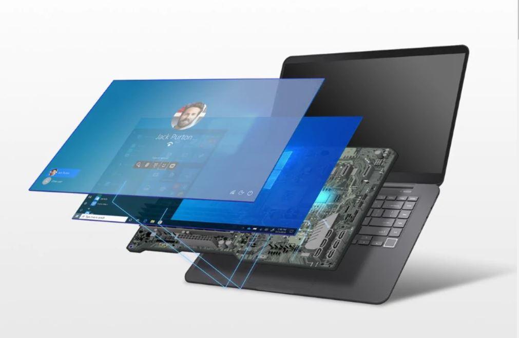 رایانههای Secured-core مایکروسافت کامپیوترهای Secured-core کامپیوتر رایانه