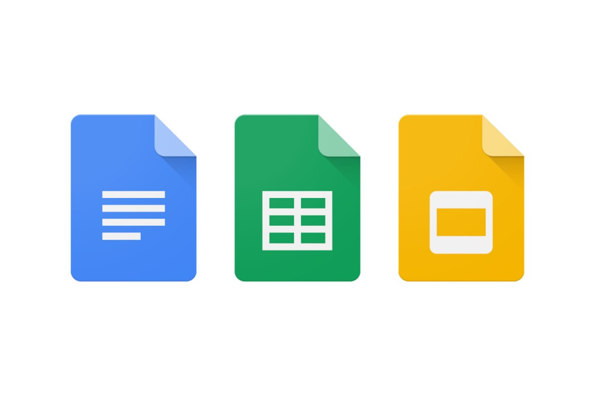 گوگل اندروید Google Docs Google Sheets Google Slides