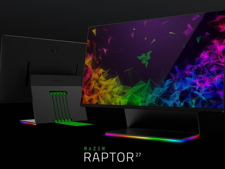 Razer Razer Raptor مانیتور گیمینگ Razer شرکت Razer گیمینگ