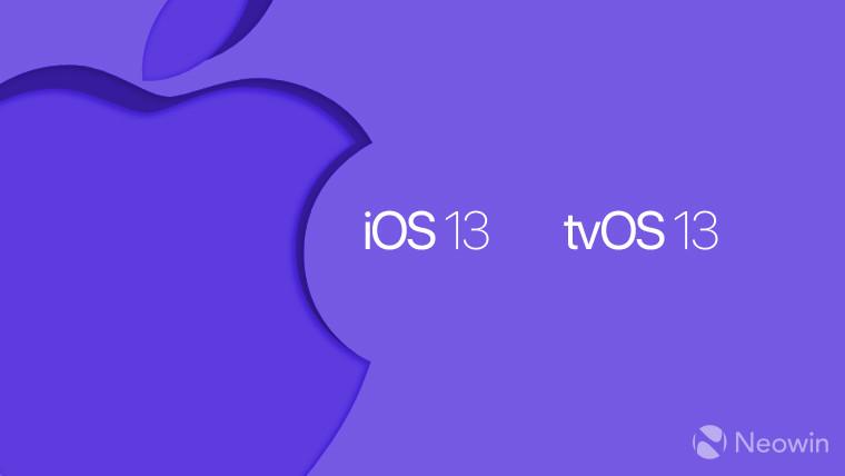iOS iOS 13 اپل iPadOS watchOS