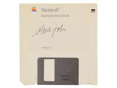 اپل استیو جابز فلاپی دیسک