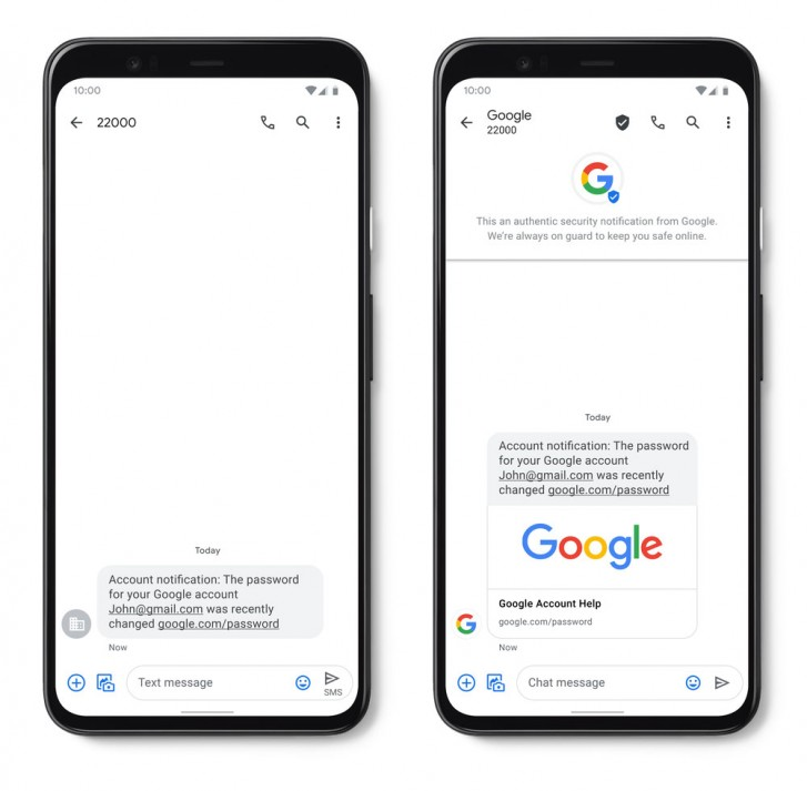 گوگل اندروید RCS Google Messages SMS