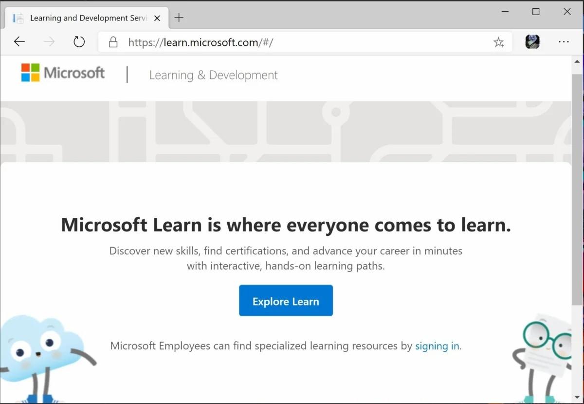 مایکروسافت Microsoft Learn سایت آموزشی مایکروسافت