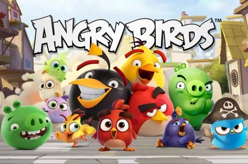 Angry Birds Rovio بازی انگری بردز بازی موبایل