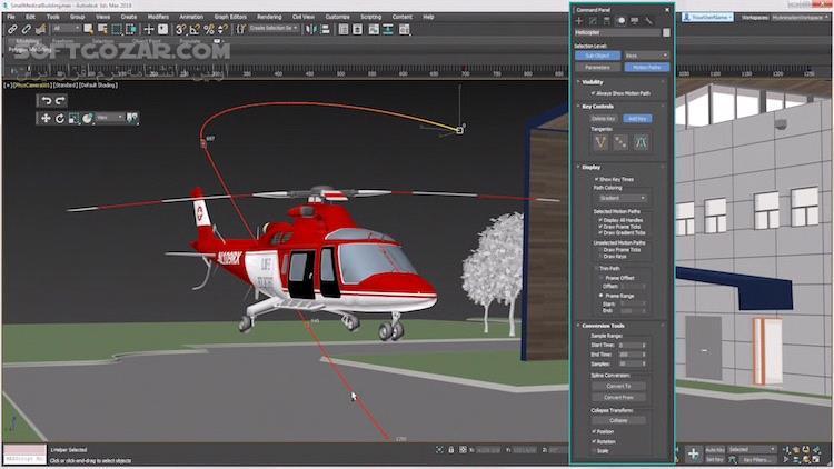 Autodesk 3ds Max 2020 3 Interactive 2020 2 4 0 0 2019 3 تصاویر نرم افزار  - سافت گذر