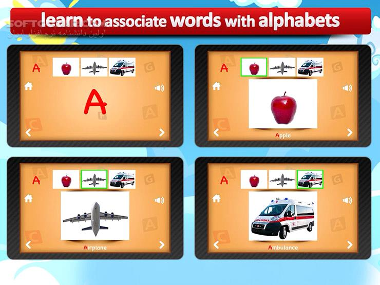 ABC for kids 3 2 for Android 2 3 تصاویر نرم افزار  - سافت گذر