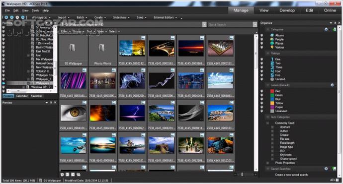 ACDSee Photo Studio Ultimate 2019 12 1 Build 1656 Professional 2018 macOS تصاویر نرم افزار  - سافت گذر