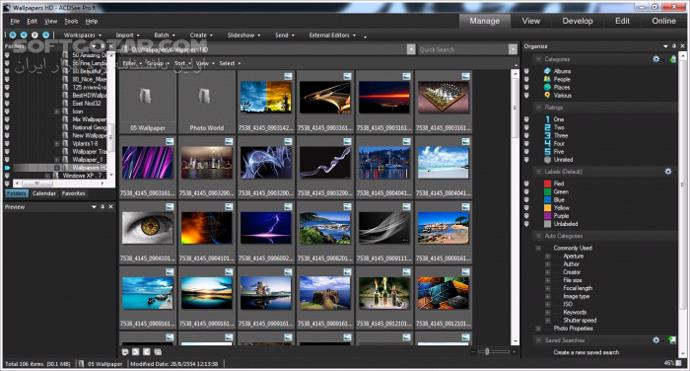 ACDSee Photo Studio Professional 2019 v12 0 Build 1132 Ultimate 2019 v12 0 Build 1593 2018 Pro Mac 4 2 744 تصاویر نرم افزار  - سافت گذر