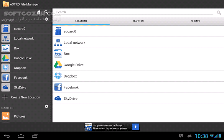 ASTRO File Manager Pro 5 0 0 7 6 0 0009 for Android 2 3 تصاویر نرم افزار  - سافت گذر