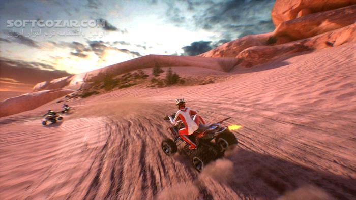 ATV Drift and Tricks تصاویر نرم افزار  - سافت گذر