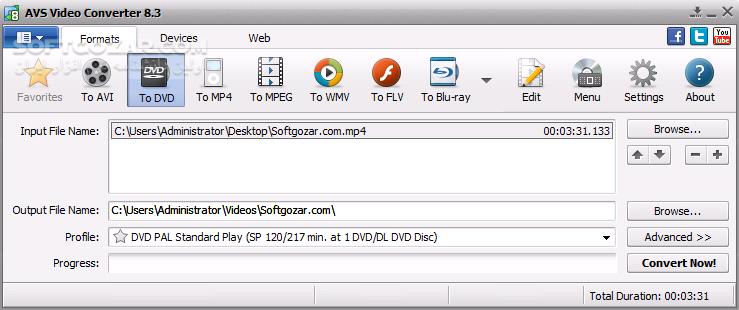 AVS Video Converter 12 0 1 650 Menu Pack تصاویر نرم افزار  - سافت گذر