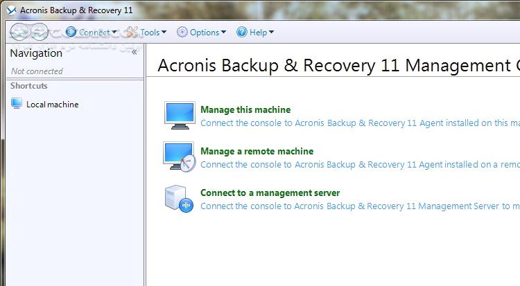 Acronis Backup Recovery 11 0 17217 Advanced Server Virtual Edition with Universal Restore and Deduplication BootCD 11 0 17440 تصاویر نرم افزار  - سافت گذر