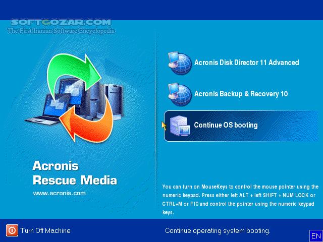 Acronis Boot Collection September 2014 تصاویر نرم افزار  - سافت گذر