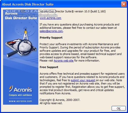 Acronis Disk Director 12 5 Build 163 Server WinPE Advanced 11 0 12077 WinPE تصاویر نرم افزار  - سافت گذر