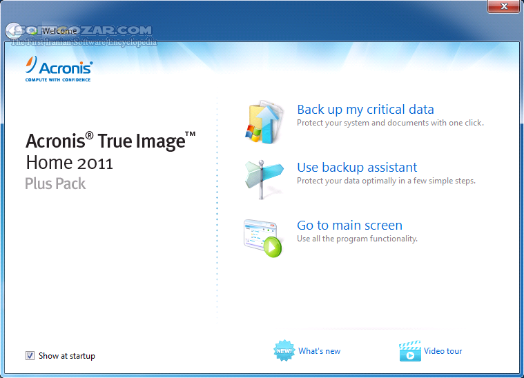 Acronis True Image 2019 Build 14690 Bootable ISO 2018 Build 15470 Bootable ISO macOS تصاویر نرم افزار  - سافت گذر
