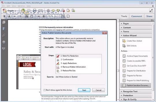 Adobe Acrobat X Professional 10 1 4 تصاویر نرم افزار  - سافت گذر