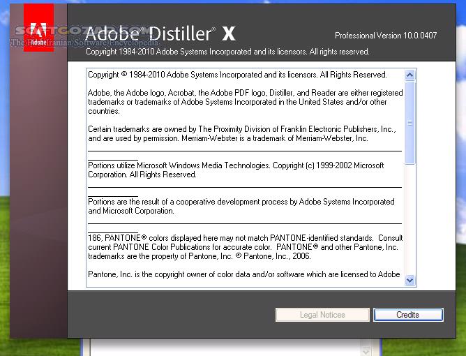 Adobe Acrobat X Pro 10 0 Middle Eastern ME تصاویر نرم افزار  - سافت گذر
