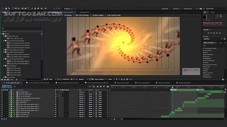 Adobe After Effects 2020 17 0 0 557 macOS تصاویر نرم افزار  - سافت گذر