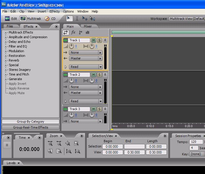 Adobe Audition CS6 v5 0 Build 708 Registered تصاویر نرم افزار  - سافت گذر